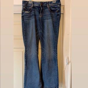 Medium wash AE jeans